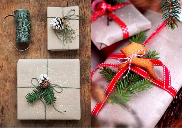 Новогодняя подарочная упаковка 32