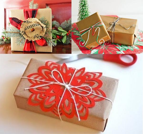 Упаковка. для новогодних подарков 961